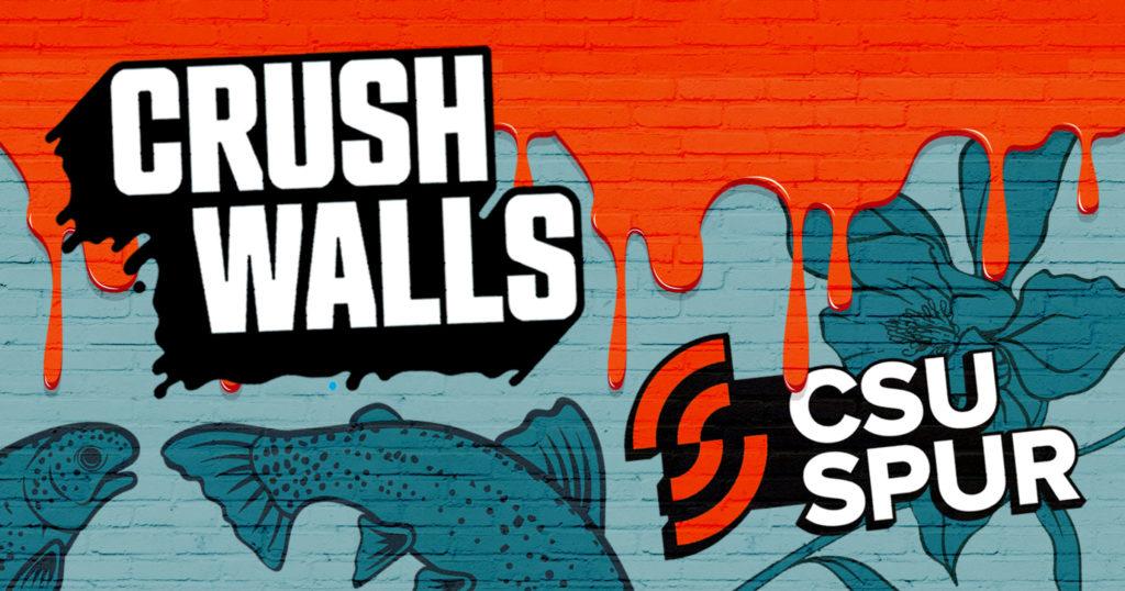 CRUSH Walls art